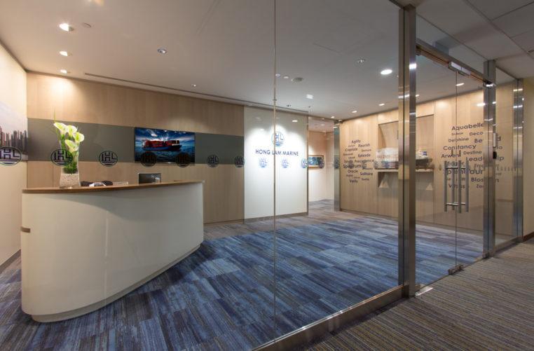 Workplace Design Singapore. Offices Hong Lam Marine Merrowsmith Design  Partnership